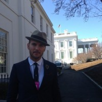 Matt Inside The White House Grounds
